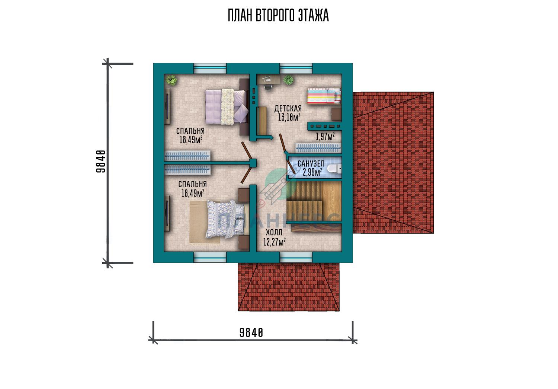 Проект Планнерс 079-137-1МГ план