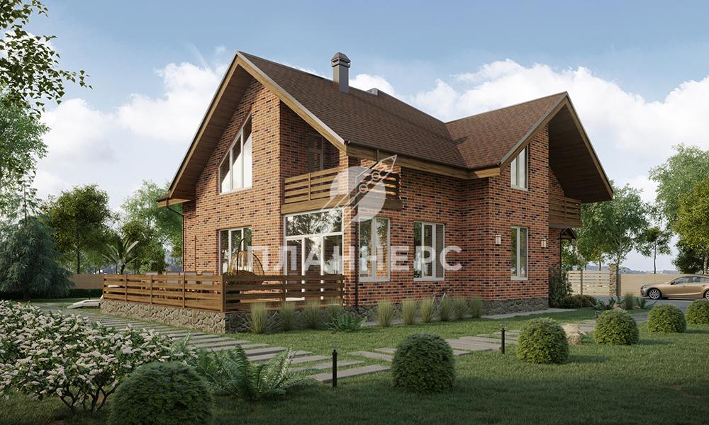 Проект Планнерс 019-233-1М  фасад