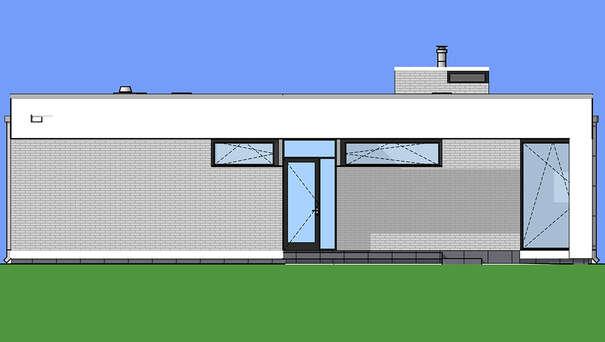 Проект дома 4m759 фасад