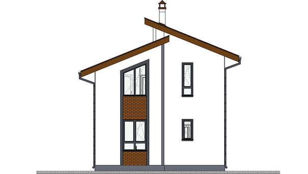 Проект дома 4m5104 фасад