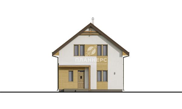 Проект дома Планнерс 095-124-1М фасад