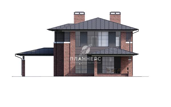 Проект дома Планнерс 109-350-2ГП фасад