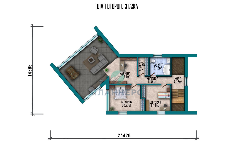 Проект Планнерс 117-234-1М план