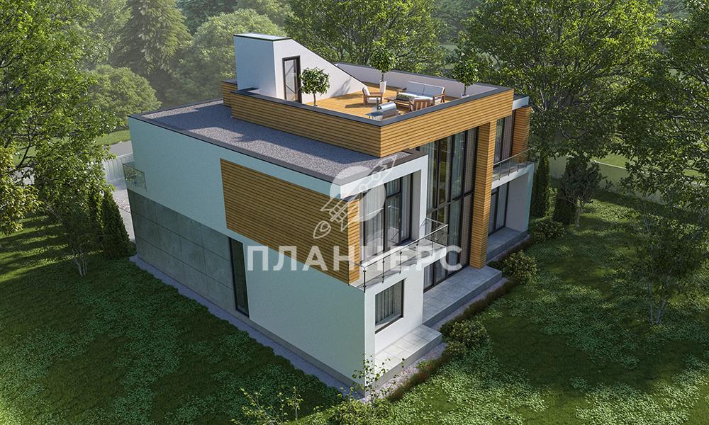 Проект дома Планнерс 118-362-2Г фасад