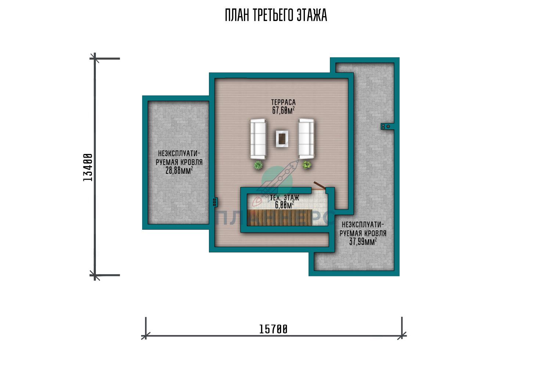 Проект дома Планнерс 118-362-2Г план