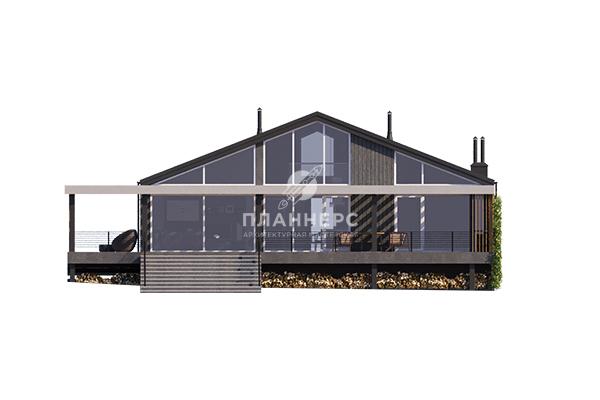 Проект дома Планнерс 122-228-1 фасад