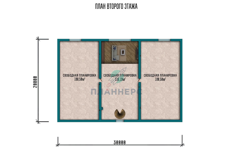 Проект дома Планнерс 125-974-1МГ план