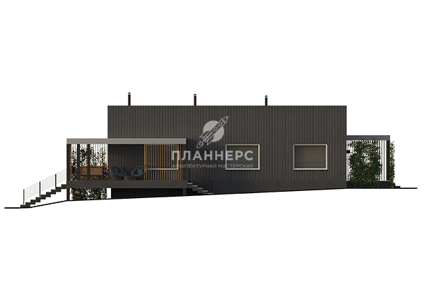 Проект дома Планнерс 131-228-1 фасад