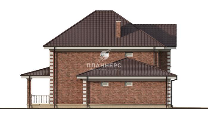 Проект дома Планнерс 094-216-2Г фасад