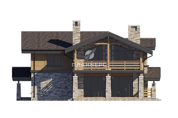 Проект дома Планнерс 107-222-2 фасад