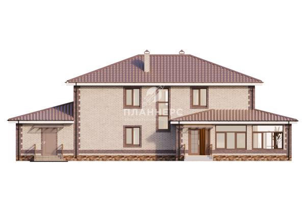 Проект дома Планнерс 056-273-2Г фасад