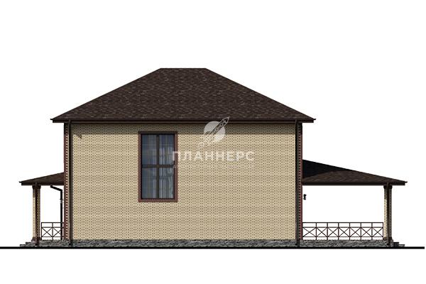 Проект дома Планнерс 108-293-2Г фасад