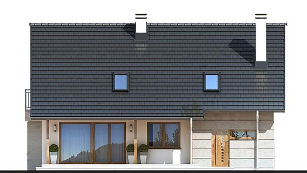 Проект дома 4m798 фасад