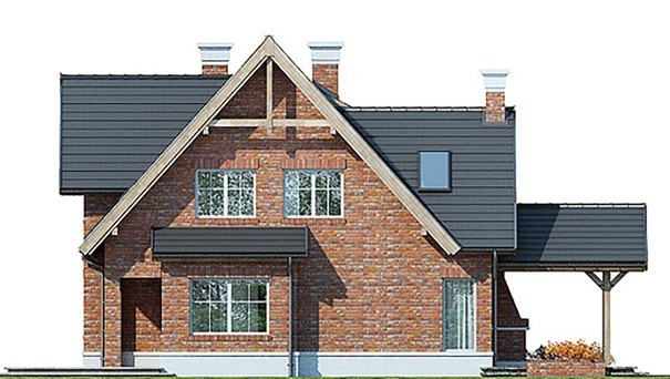 Проект дома 4m523 фасад