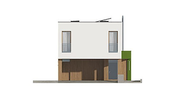 Проект дома 4m413 фасад