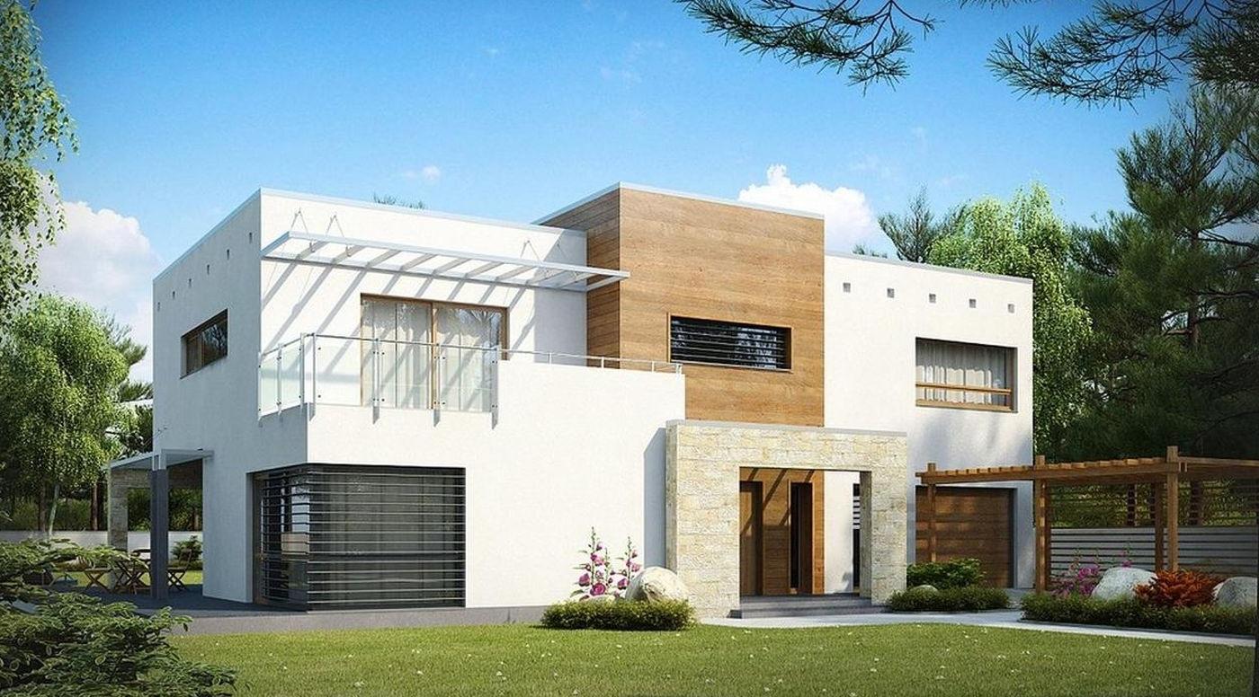 Проект дома 170 кв.м // Артикул Л-55 фасад