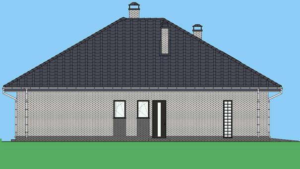 Проект дома 4m1504 фасад