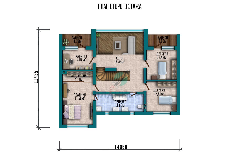 Проект Планнерс 126-264-1М план