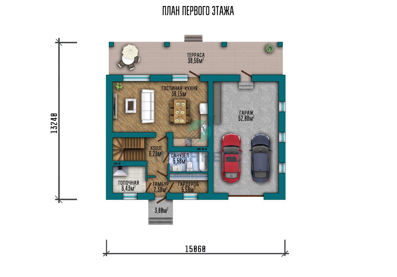 Проект Планнерс 119-224-1МГ план