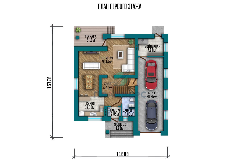 Проект Планнерс 120-198-1МГ план