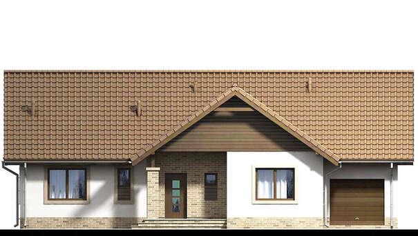 Проект дома 4m637 фасад
