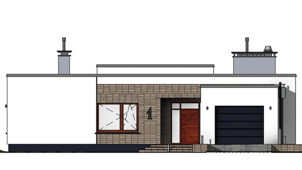 Проект дома 4m760 фасад