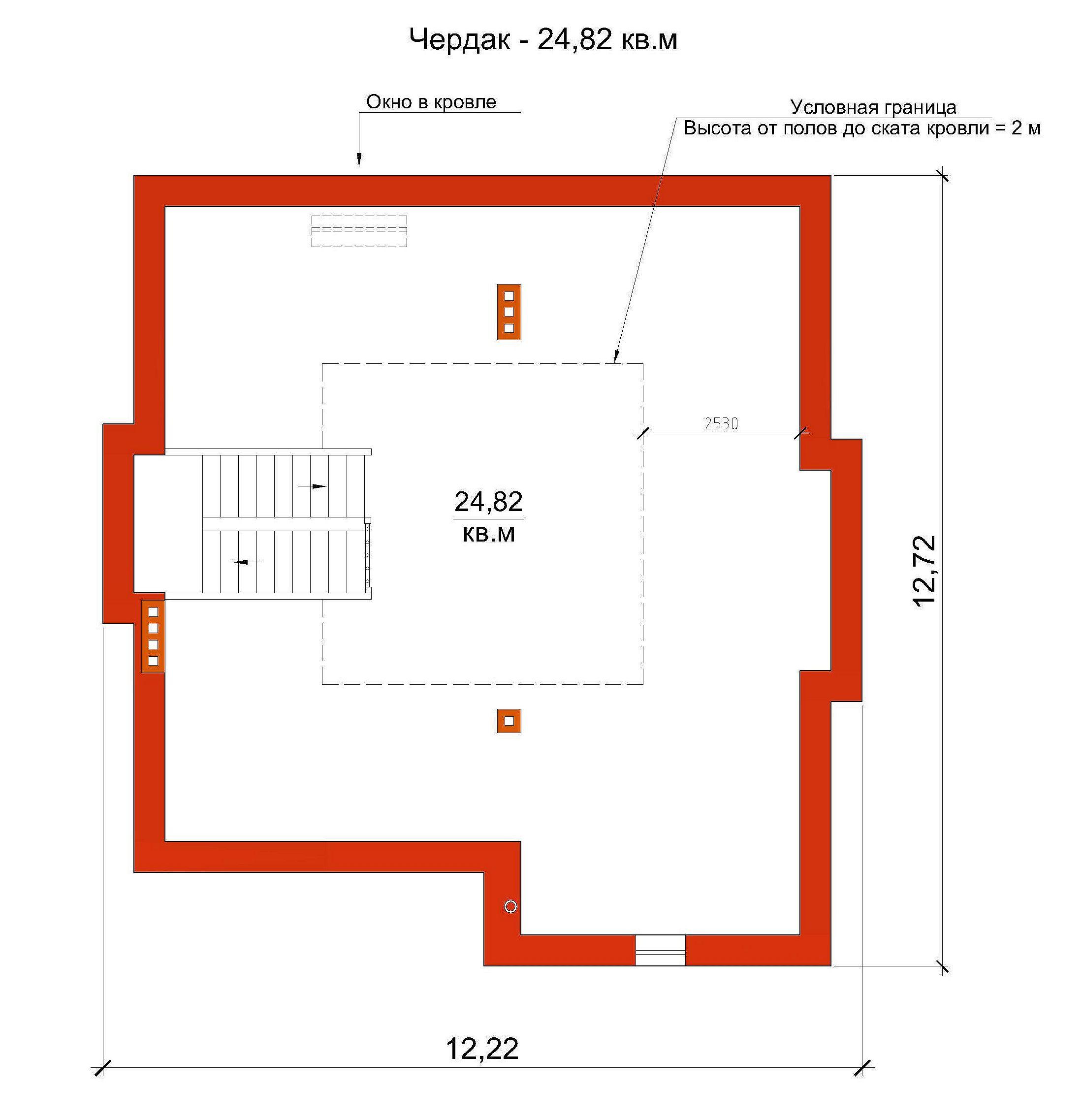 Готовый проект дома 200 кв.м // Артикул ВЧ-222 план