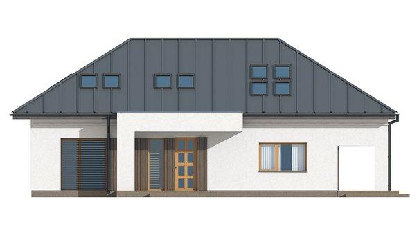 Проект дома 4m508a фасад