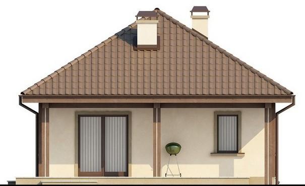 Проект дома 4m508 фасад