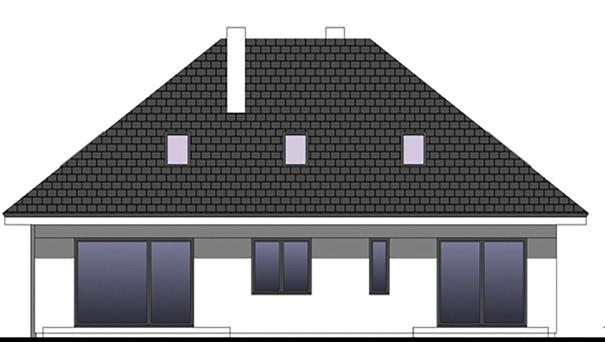 Проект дома 4m749 фасад